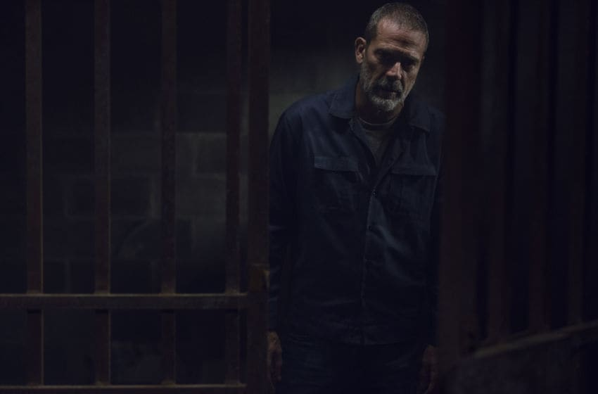 Jeffrey Dean Morgan as Negan- The Walking Dead _ Season 9, Episode 8 - Photo Credit: Gene Page/AMC