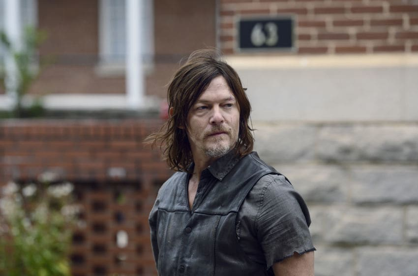 Norman Reedus as Daryl Dixon - The Walking Dead _ Season 9, Episode 15 - Photo Credit: Gene Page/AMC