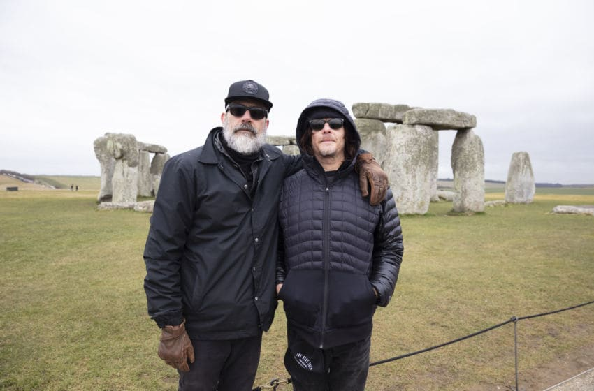 Norman Reedus, Jeffrey Dean Morgan - Ride with Norman Reedus _ Season 3, Episode 1 - Photo Credit: Sophie Mutevelian/AMC
