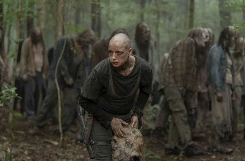 Samantha Morton as Alpha - The Walking Dead _ Season 10, Episode 2 - Photo Credit: Jace Downs/AMC