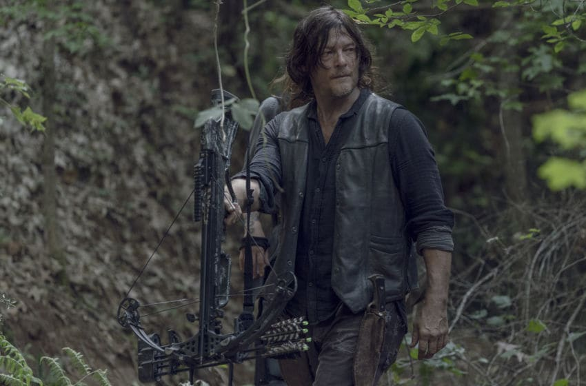 Norman Reedus as Daryl Dixon - The Walking Dead _ Season 10, Episode 5 - Photo Credit: Jace Downs/AMC
