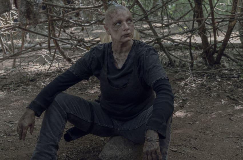 Samantha Morton as Alpha - The Walking Dead _ Season 10, Episode 5 - Photo Credit: Jace Downs/AMC