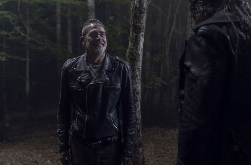 Jeffrey Dean Morgan as Negan, Ryan Hurst as Beta - The Walking Dead _ Season 10, Episode 6 - Photo Credit: Jace Downs/AMC
