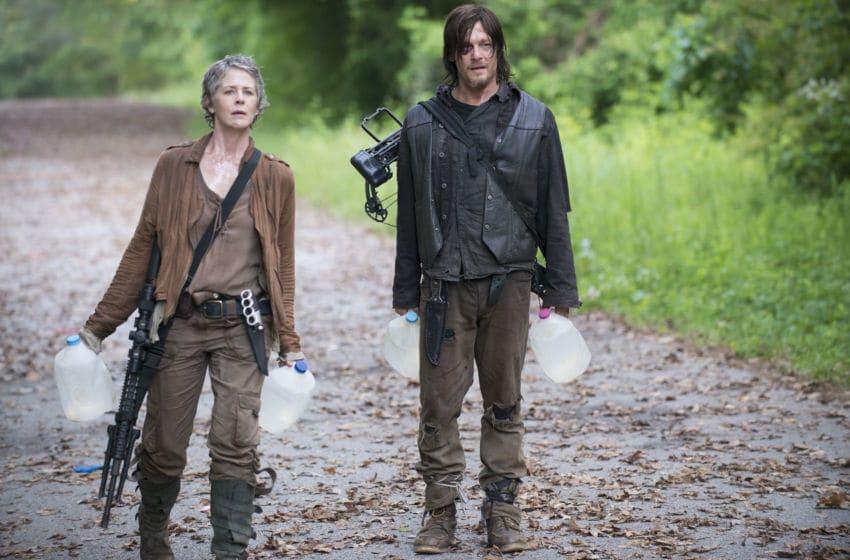 Melissa McBride as Carol Peletier and Norman Reedus as Daryl Dixon - The Walking Dead _ Seasn 5, Episode 2 - Photo Credit: Gene Page/AMC