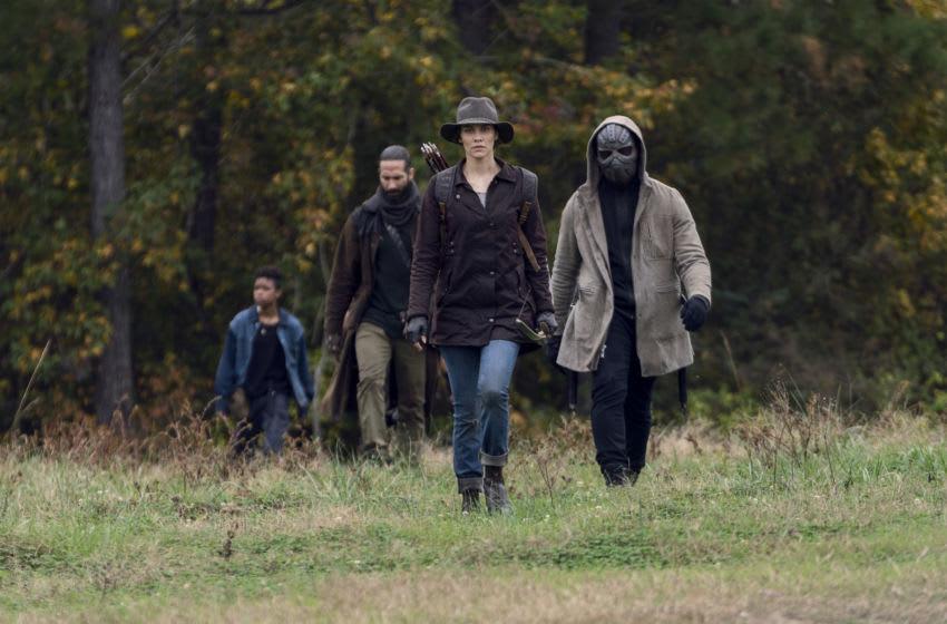 Lauren Cohan as Maggie - The Walking Dead _ Season 10 - Photo Credit: Eli Ade/AMC