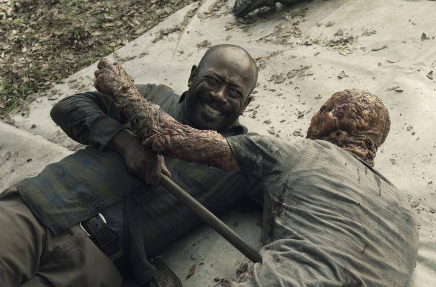 Lennie James as Morgan Jones- Fear the Walking Dead _ Season 5, Episode 2 - Photo Credit: Ryan Green/AMC