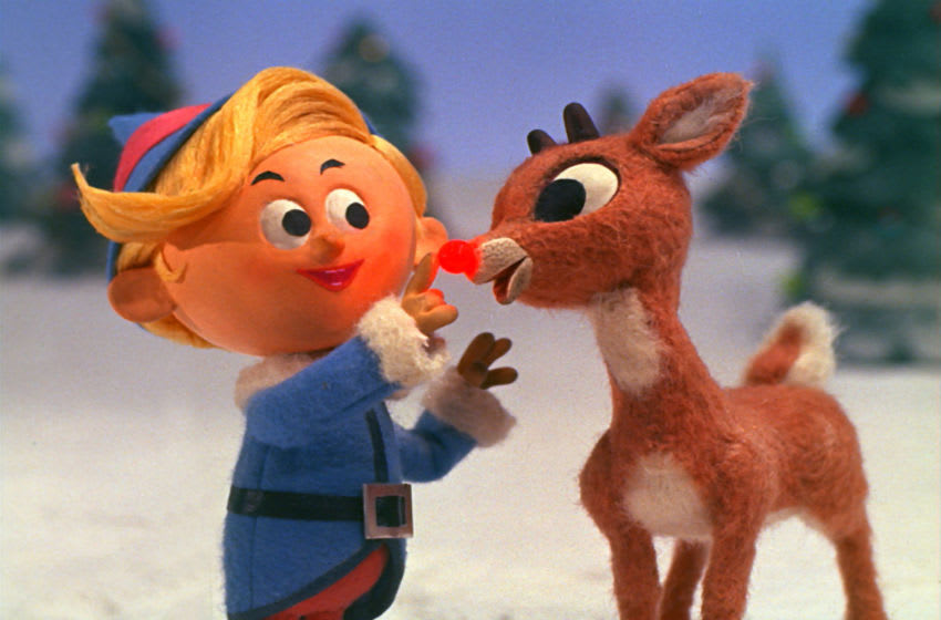 RUDOLPH THE RED-NOSED REINDEER--Narrated by Burl Ives, who is also heard as the voice of Sam the Snowman, this favorite is a music story based on the popular song of the same name by Johnny Marks. It recounts the tale of a shy reindeer whose Christmas spirit is dampened because his shiny nose has made him the laughing stock of all of Christmasville. Photo: © Classic Media