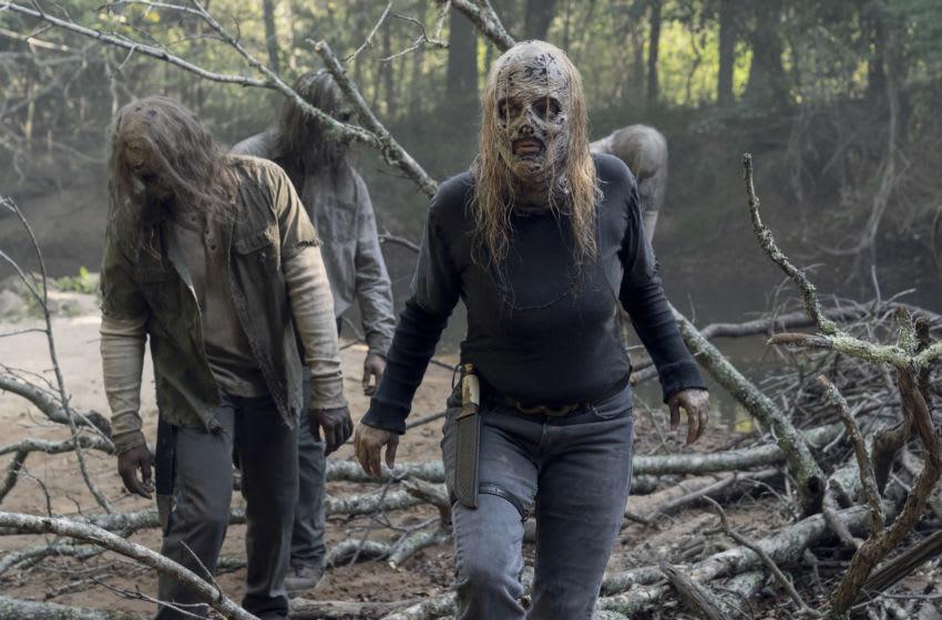 Samantha Morton as Alpha - The Walking Dead _ Season 10, Episode 10 - Photo Credit: Jace Downs/AMC