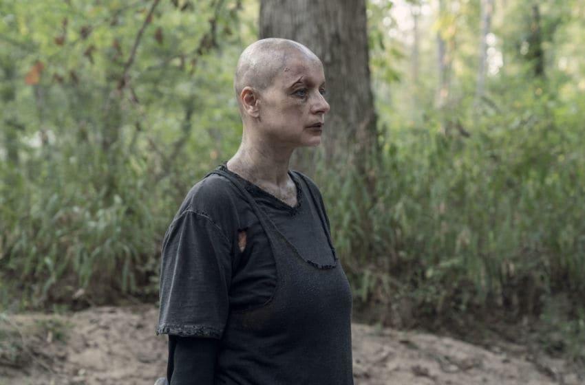 Samantha Morton as Alpha - The Walking Dead _ Season 10, Episode 11 - Photo Credit: Jace Downs/AMC