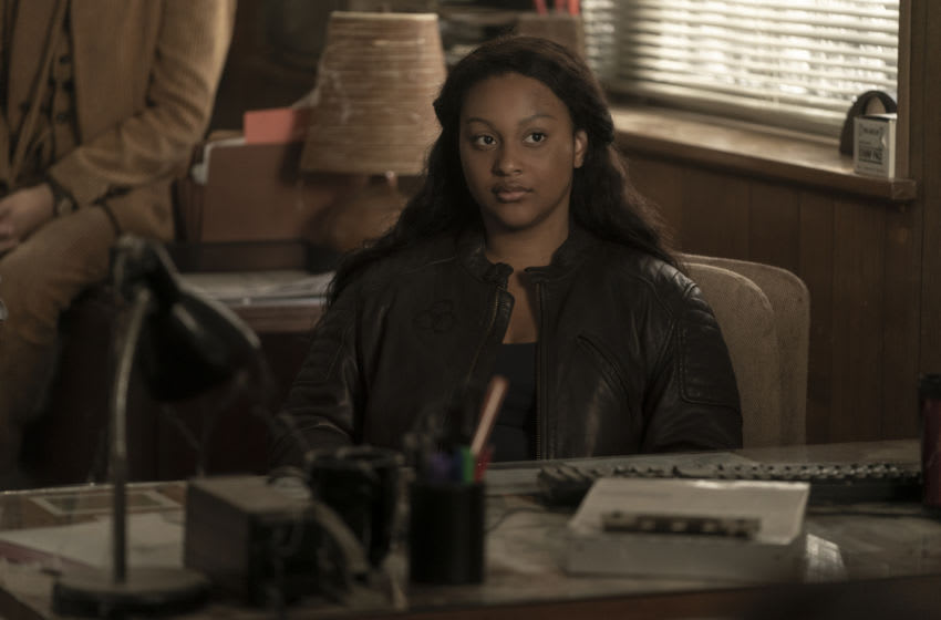 Aliyah Royale as Iris - The Walking Dead: World Beyond _ Season 1, Episode 3 - Photo Credit: Macall Polay/AMC