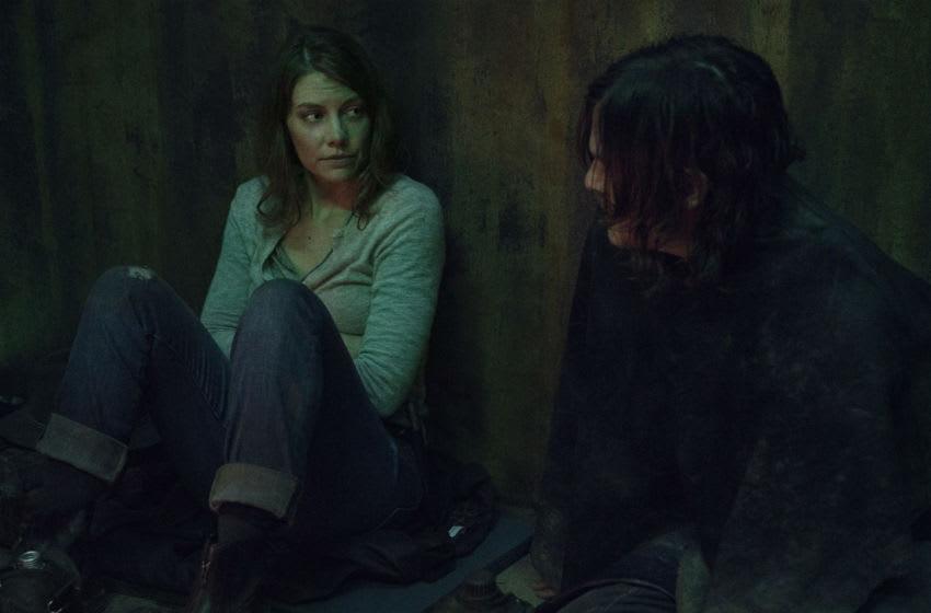 Lauren Cohan as Maggie, Norman Reedus as Daryl Dixon - The Walking Dead _ Season 10, Episode 17 - Photo Credit: Eli Ade/AMC