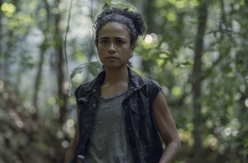 Lauren Ridloff as Connie, Norman Reedus as Daryl Dixon - The Walking Dead _ Season 10, Episode 5 - Photo Credit: Jace Downs/AMC