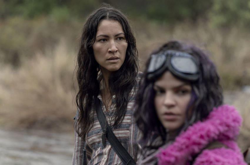 Eleanor Matsuura as Yumiko, Paola Lazaro as Princess - The Walking Dead _ Season 10, Episode 15 - Photo Credit: Jace Downs/AMC