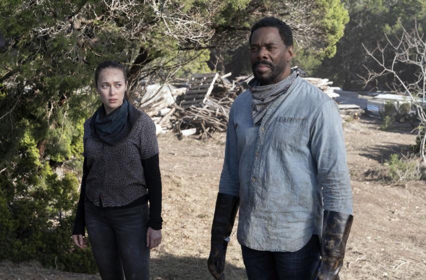 Alycia Debnam-Carey as Alicia Clark, Colman Domingo as Victor Strand - Fear the Walking Dead _ Season 6 - Photo Credit: Ryan Green/AMC