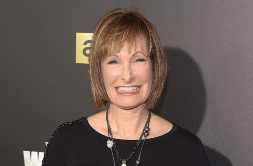 NEW YORK, NY - OCTOBER 09: Producer Gale Anne Hurd attends the season six premiere of 'The Walking Dead' at Madison Square Garden on October 9, 2015 in New York City. (Photo by Theo Wargo/Getty Images)