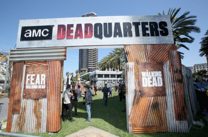 SAN DIEGO, CA - JULY 19: Signage on display at AMC's Deadquarters during Comic Con 2018 on July 19, 2018 in San Diego, California. (Photo by Jesse Grant/Getty Images for AMC)