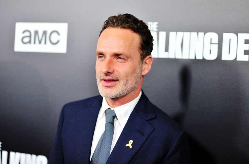 LOS ANGELES, CA - SEPTEMBER 27: Andrew Lincoln arrives at the Premiere Of AMC's 'The Walking Dead' Season 9 at the DGA Theater on September 27, 2018 in Los Angeles, California. (Photo by Jerod Harris/Getty Images)