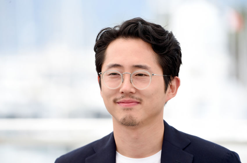 CANNES, FRANCE - MAY 17: Actor Steven Yeun attends