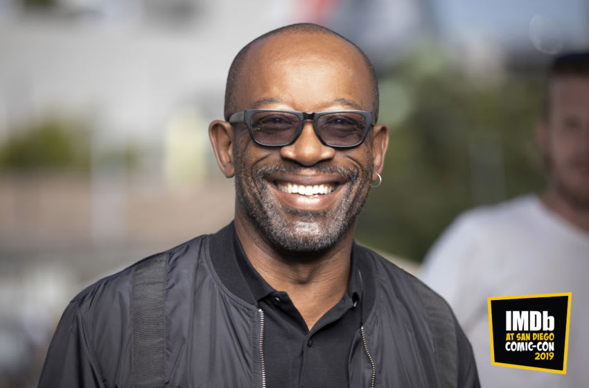 SAN DIEGO, CALIFORNIA - JULY 19: (EDITORS NOTE: This image has been altered: a logo was added.) Lennie James attends the #IMDboat at San Diego Comic-Con 2019: Day Two at the IMDb Yacht on July 19, 2019 in San Diego, California. (Photo by Rich Polk/Getty Images for IMDb)