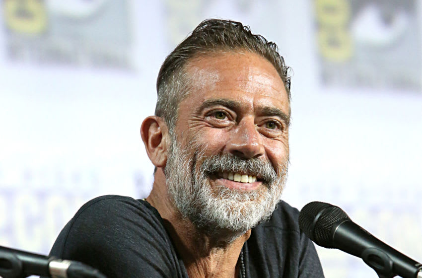 Jeffrey Dean Morgan Comic Con panel July 19, 2019 in San Diego, California. (Photo by Jesse Grant/Getty Images for AMC)