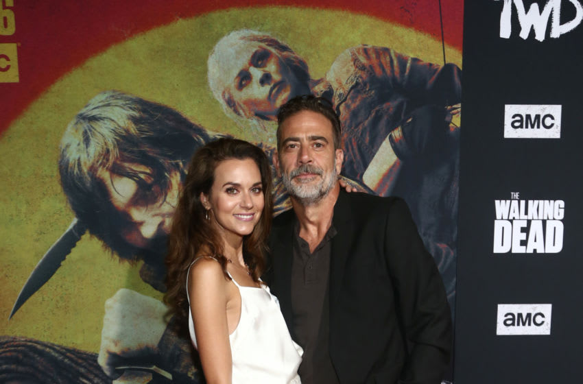WEST HOLLYWOOD, CALIFORNIA - SEPTEMBER 23: Hilarie Burton and Jeffrey Dean Morgan attends The Walking Dead Premiere and Party on September 23, 2019 in West Hollywood, California. (Photo by Tommaso Boddi/Getty Images for AMC)
