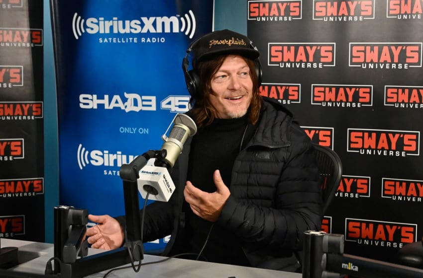 NEW YORK, NEW YORK - FEBRUARY 28: (EXCLUSIVE COVERAGE) Actor Norman Reedus visits the SiriusXM Studios on February 28, 2020 in New York City. (Photo by Astrid Stawiarz/Getty Images)