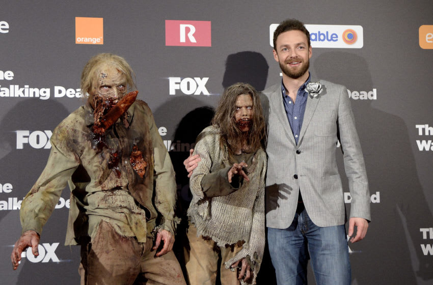 MADRID, SPAIN - FEBRUARY 23: Ross Marquand attends the 'The Walking Dead' fan event at Callao Cinema on February 23, 2016 in Madrid, Spain. (Photo by Fotonoticias/Getty Images)