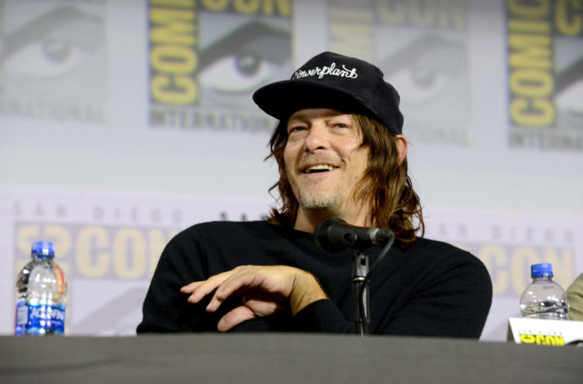 SAN DIEGO, CALIFORNIA - JULY 19: Norman Reedus speaks at
