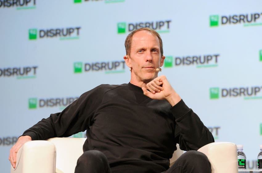 SAN FRANCISCO, CA - SEPTEMBER 07: Adidas Executive Board Member Eric Liedtke speaks onstage during Day 3 of TechCrunch Disrupt SF 2018 at Moscone Center on September 7, 2018 in San Francisco, California. (Photo by Steve Jennings/Getty Images for TechCrunch)