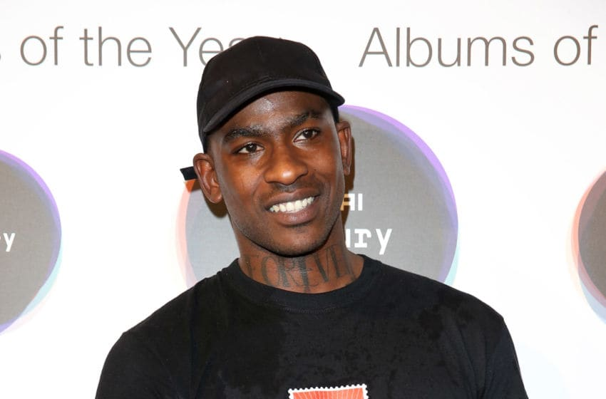 LONDON, ENGLAND - SEPTEMBER 15: Joseph Junior Adenuga aka Skepta poses for a photo shortly after being announced the winner of the Mercury Prize 2016 at the Hyundai Mercury Prize 2016 at Eventim Apollo on September 15, 2016 in London, England. (Photo by Tim P. Whitby/Getty Images)