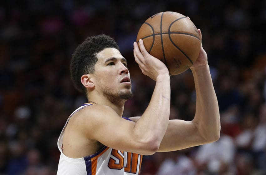 Phoenix Suns Devin Booker (Photo by Michael Reaves/Getty Images)