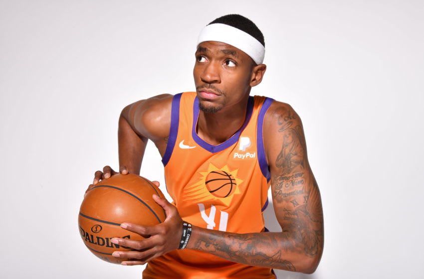 Tariq Owens, Phoenix Suns (Photo by Barry Gossage NBAE via Getty Images)