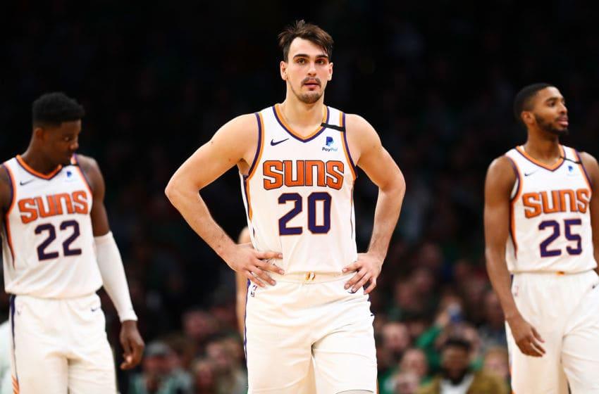 Dario Saric, Phoenix Suns. (Photo by Adam Glanzman/Getty Images)