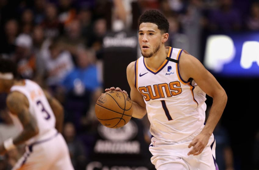Devin Booker Phoenix Suns (Photo by Christian Petersen/Getty Images)