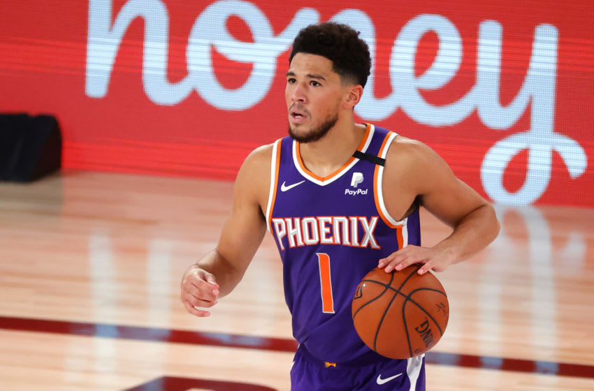 Phoenix Suns, Devin Booker (Photo by Kevin C. Cox/Getty Images)