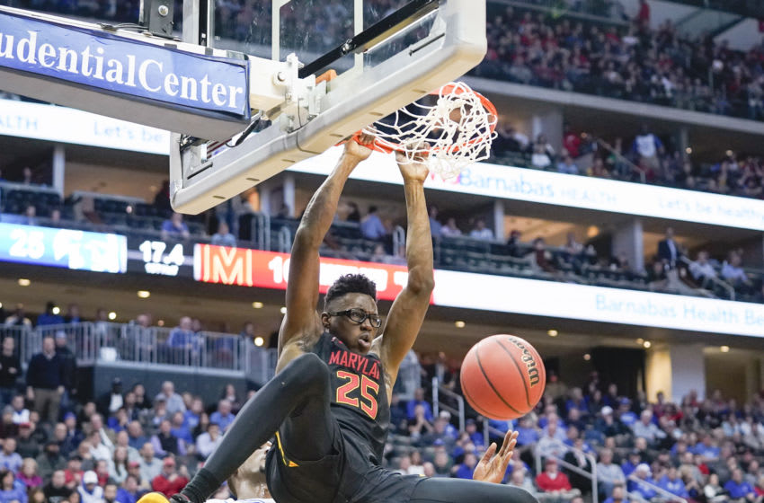Jalen Smith #25 of the Maryland Terrapins (Photo by Porter Binks/Getty Images)