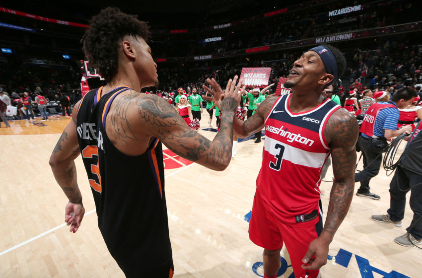 Phoenix Suns Bradley Beal Kelly Oubre (Photo by Ned Dishman/NBAE via Getty Images)