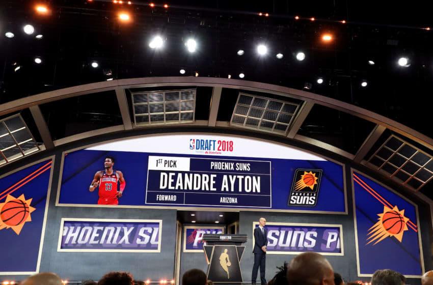 Deandre Ayton NBA Draft, Phoenix Suns (Photo by Mike Lawrie/Getty Images)