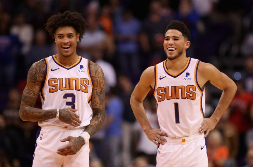 Devin Booker, Kelly Oubre, Phoenix Suns (Photo by Christian Petersen/Getty Images)