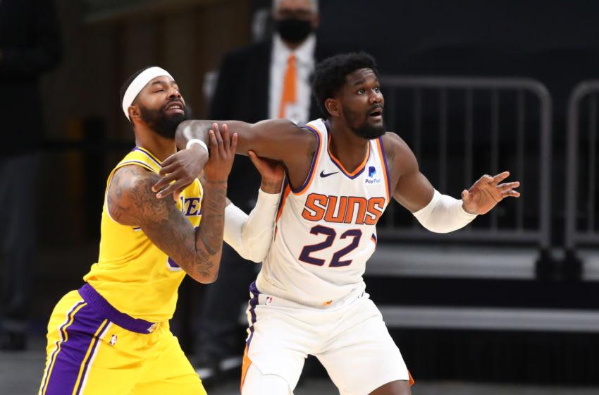 Phoenix Suns, Deandre Ayton (Photo by Mark J. Rebilas-USA TODAY Sports)