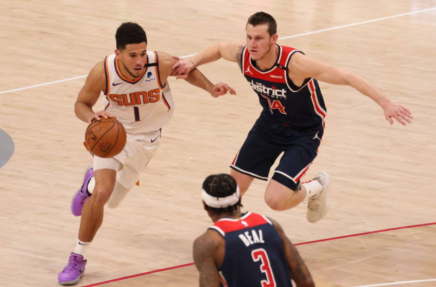 Phoenix Suns, Devin Booker (Photo by: Geoff Burke/USA TODAY Sports)