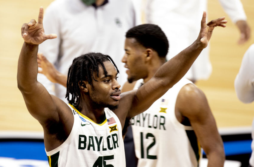 Baylor Bears, Davion Mitchell (45) and Jared Butler. (Photo by Albert Cesare/IndyStar via USA TODAY Sports)