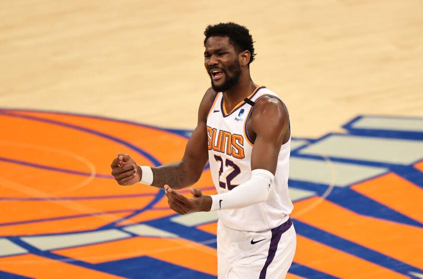 Phoenix Suns, Deandre Ayton. Mandatory Credit: Elsa/POOL PHOTOS-USA TODAY Sports