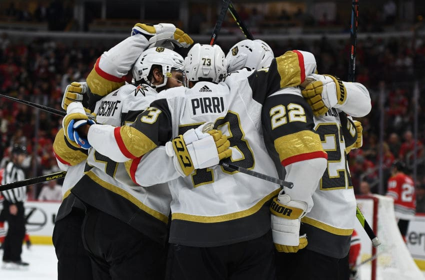 Vegas Golden Knights. (Photo by Stacy Revere/Getty Images)