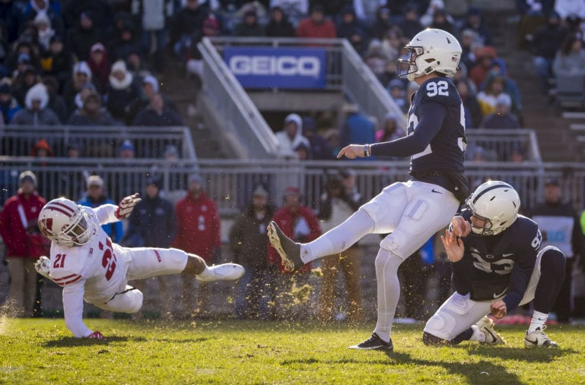 Penn State Football: K Jake Pinegar improving steadily