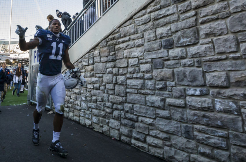 Micah Parsons #11 of the Penn State Nittany Lions (Photo by Scott Taetsch/Getty Images)