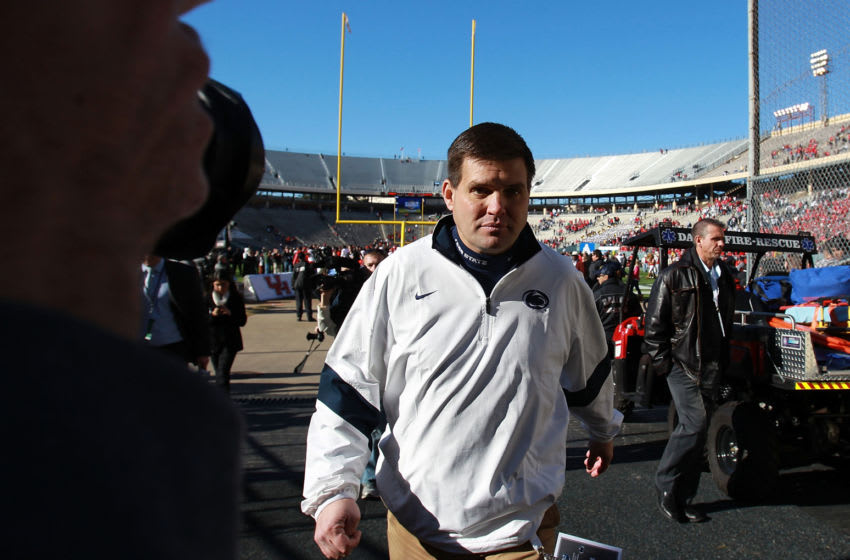 Former Penn State Football quarterbacks coach Jay Paterno (Photo by Ronald Martinez/Getty Images)