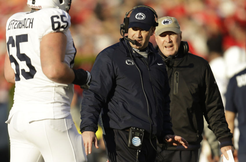 Head Coach Bill O'Brien of the Penn State Nittany Lions (Photo by Mike McGinnis/Getty Images)