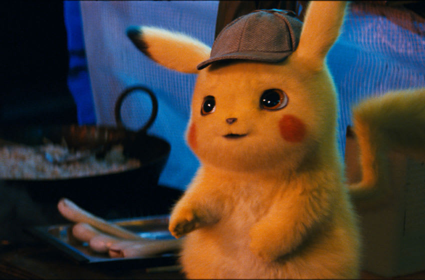 Detective Pikachu (RYAN REYNOLDS) in Legendary Pictures', Warner Bros. Pictures' and The Pokémon Company's comedy adventure