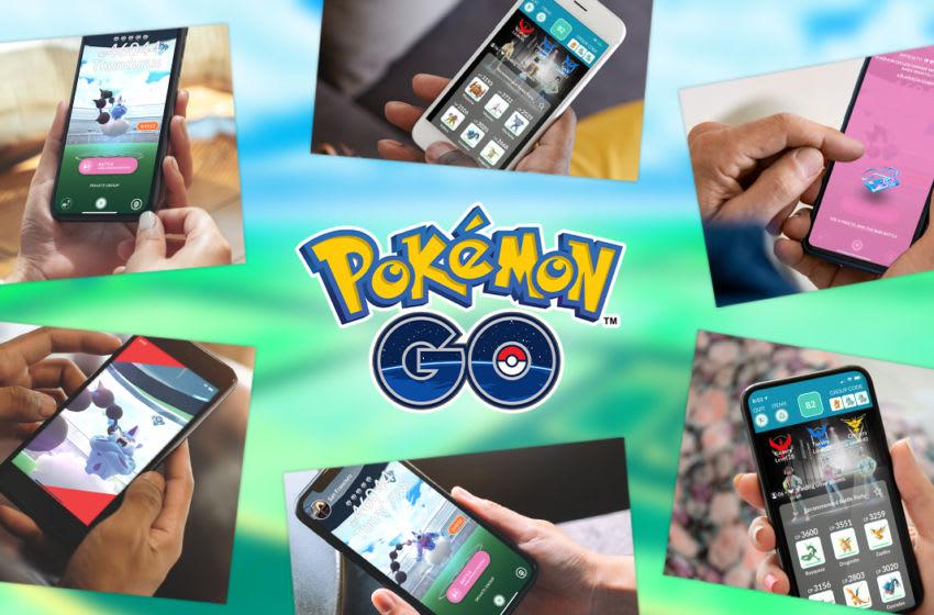 Pokemon GO Remote Raid key art. Image Courtesy Pokemon GO